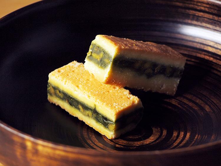 <日本茶菓SANOAH>キャラメルサンドクッキー胡桃抹茶