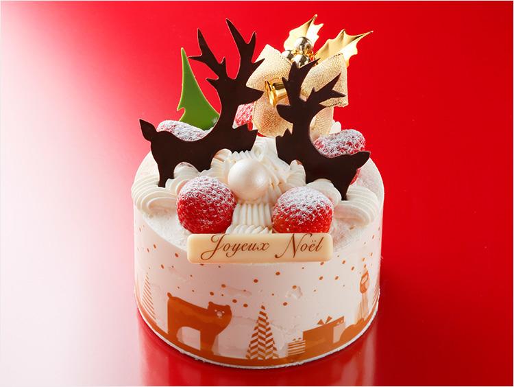 【予約なしで当日買える】伊勢丹新宿店のハイセンスなクリスマスケーキ2019の画像
