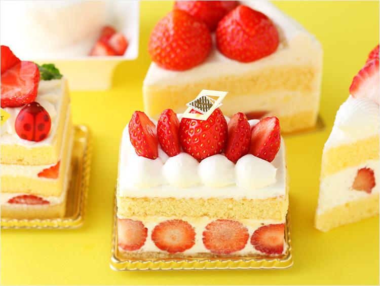ショートケーキのイメージ