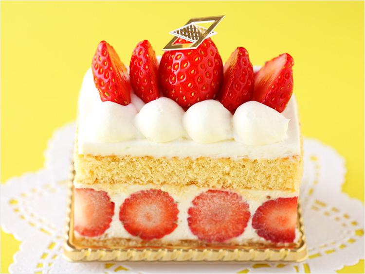 <資生堂パーラー>ショートケーキ