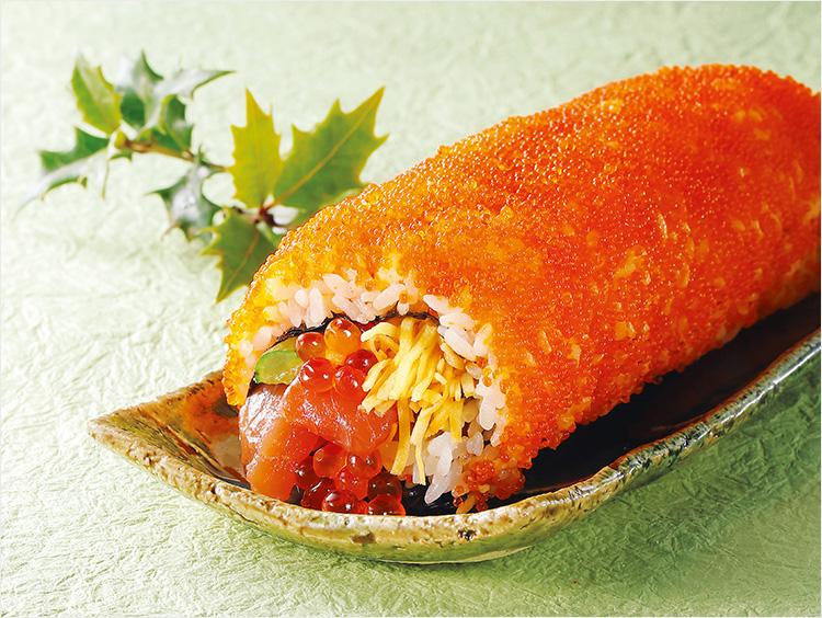 <魚勢>鮭といくらの恵方巻