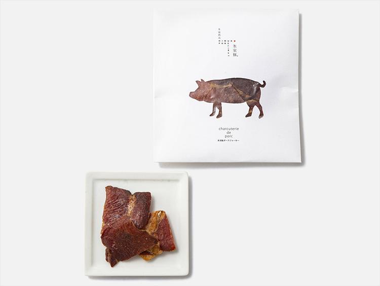<氷温熟成 氷室豚>ポークジャーキー
