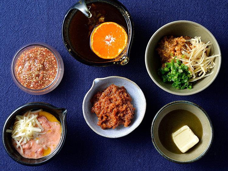 鍋ダレ6種