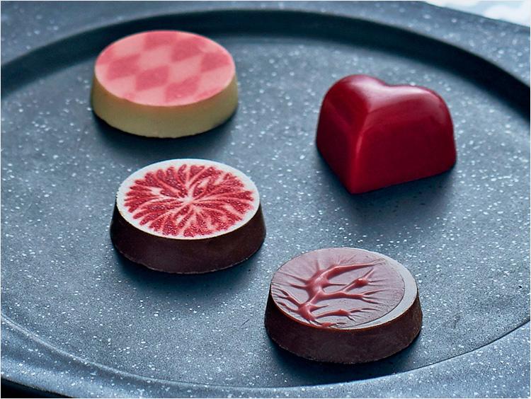 4粒のチョコレート