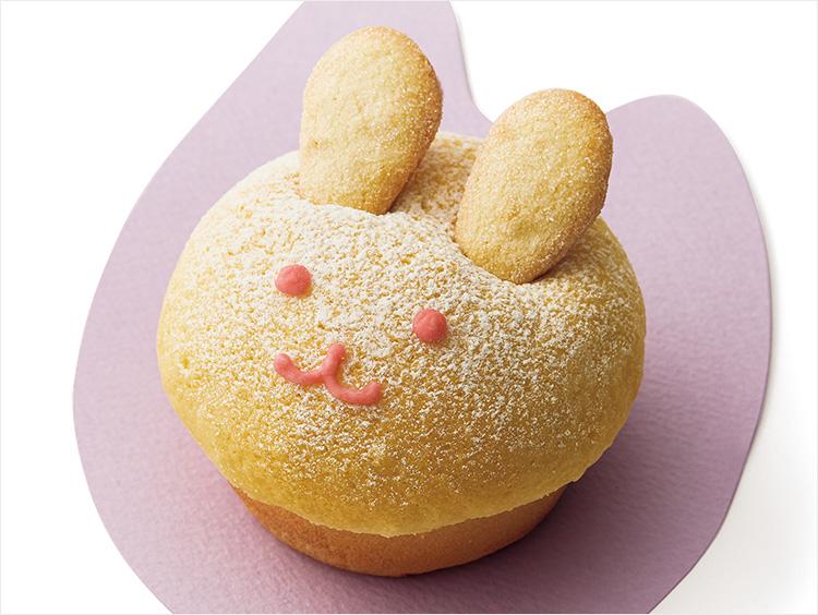 <アンデルセン>うさぎのクリームパン