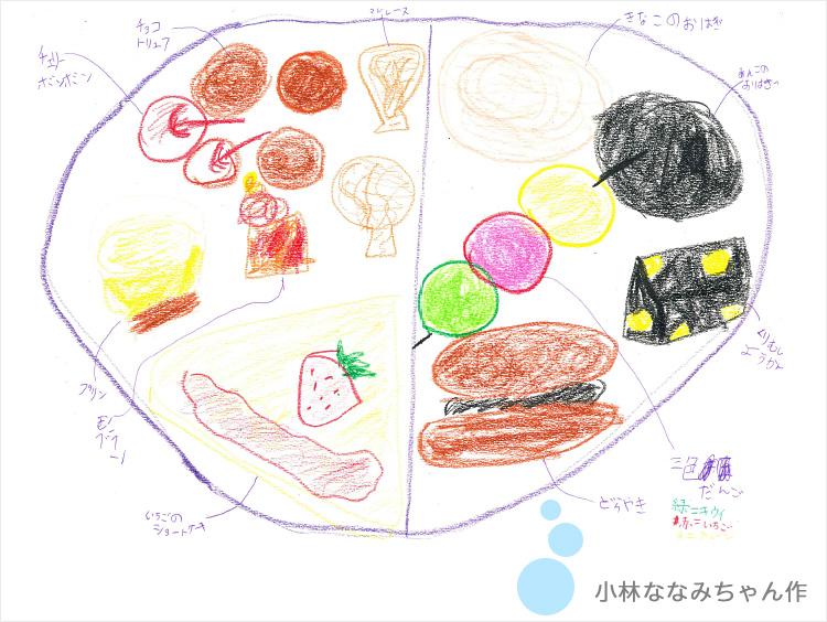 小林ななみちゃんのイラスト