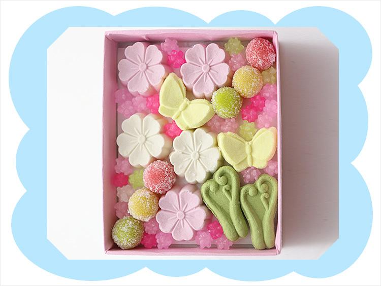 <京菓匠 笹屋伊織>春のお干菓子