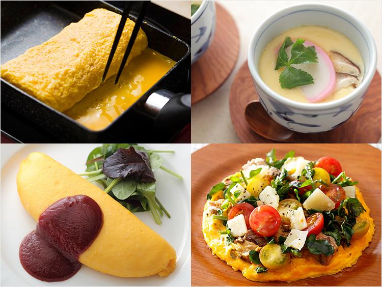 卵料理のイメージ