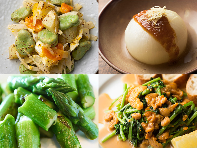 春野菜のレシピのイメージ