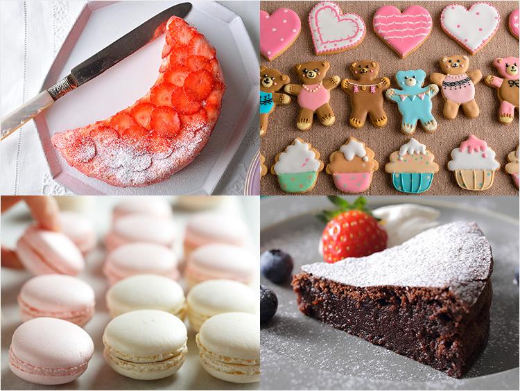手作りお菓子のイメージ