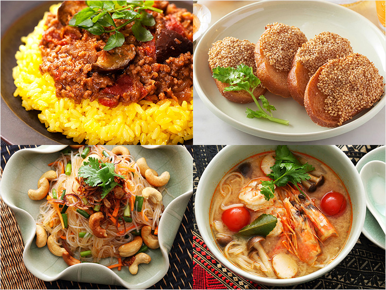 エスニック料理のイメージ