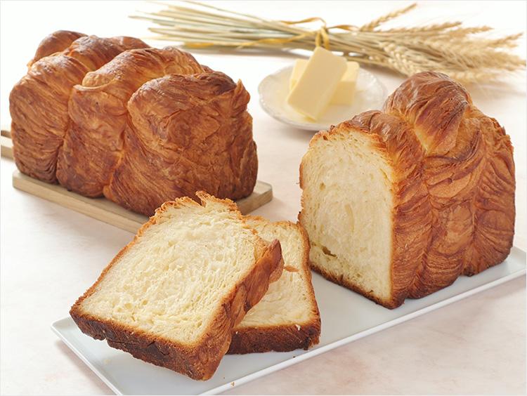 <フェルム ラ・テール美瑛>北海道バタークロワッサン食パン