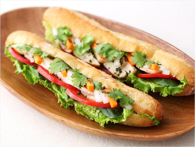 <イッツ サンドイッチ マジック>ベトナム風サンド