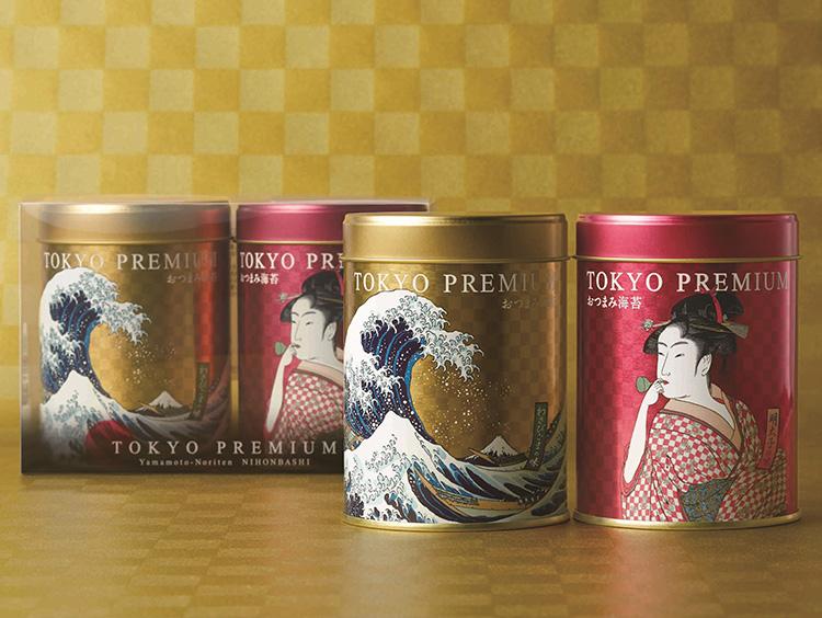 <山本海苔店>東京プレミアムおつまみ海苔 2缶詰合せ