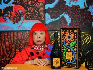 ヴーヴ・クリコ×草間彌生のコラボ商品が伊勢丹で世界先行販売