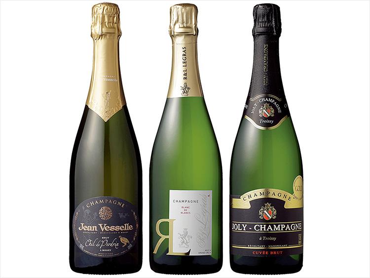 シャンパーニュ主要品種別飲み比べ3本セット