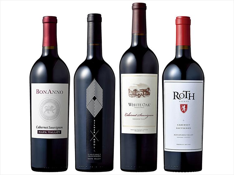 カベルネ・ソーヴィニヨン飲み比べ赤ワイン4本セット