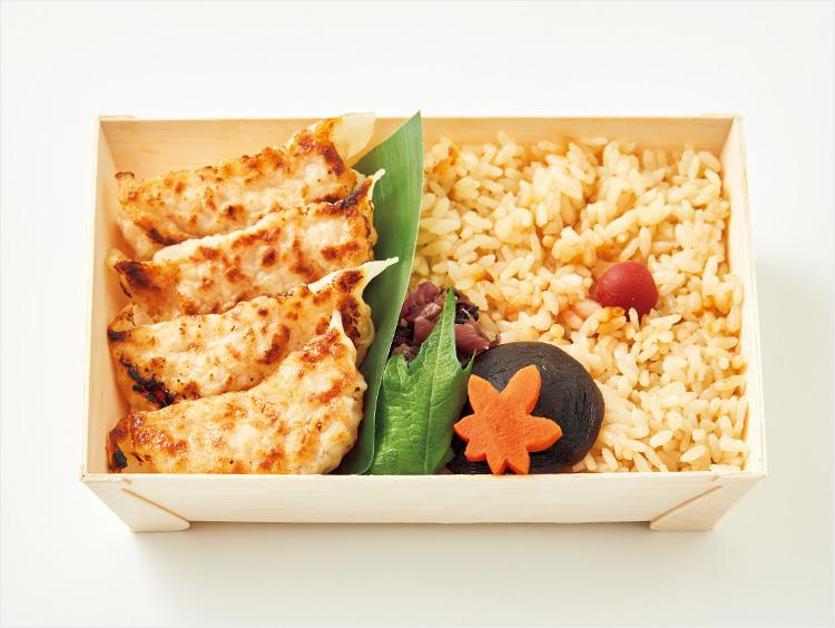 <米屋>とり&大豆ミート餃子弁当