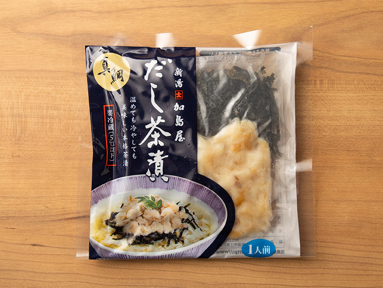 <加島屋>だし茶漬(真鯛)