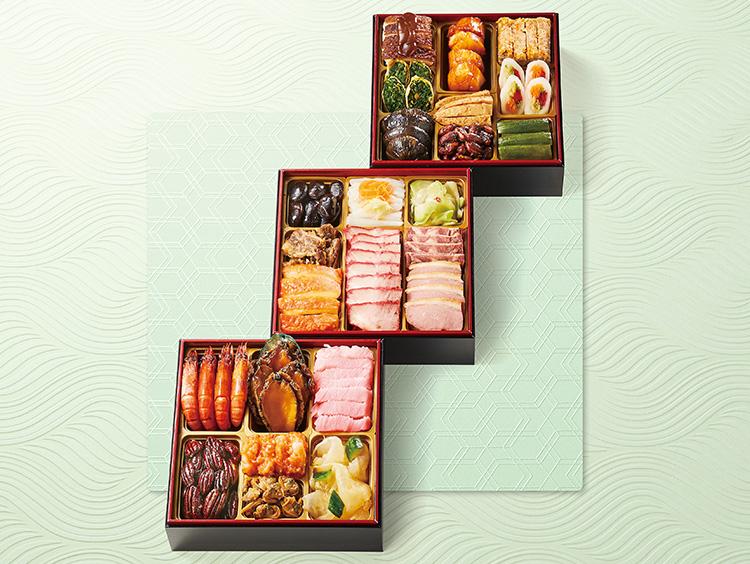 <馥香>中華料理のおせち三段重