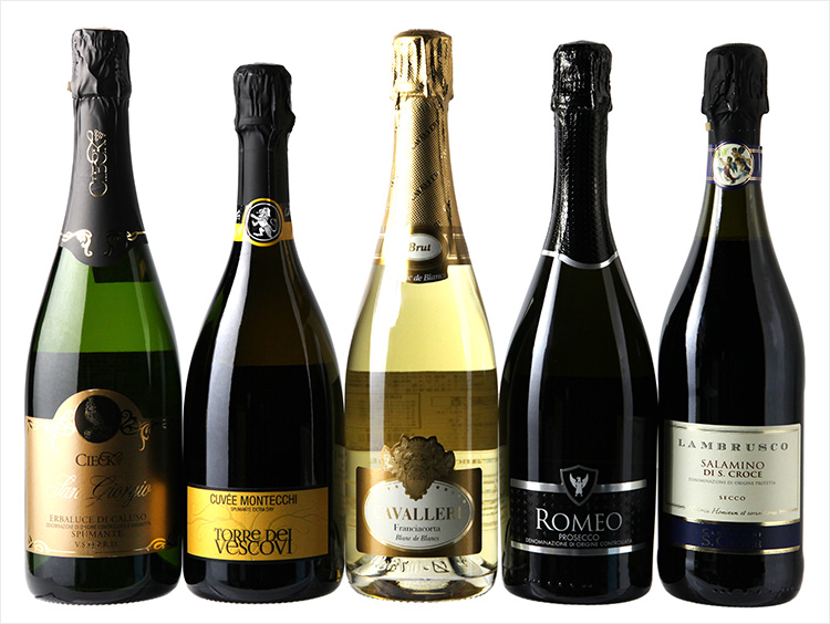 イタリア製発泡酒のみ比べ5本セット