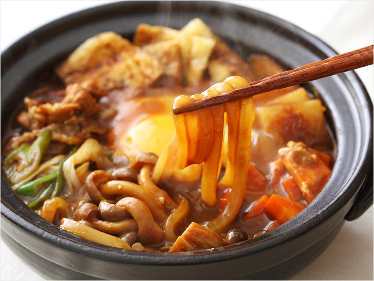 豆味噌の味噌煮込みうどんのイメージ