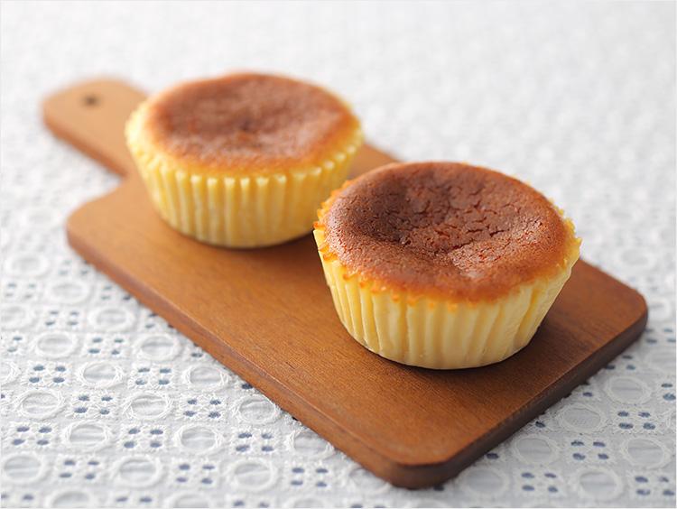 <うふふ>バスクチーズケーキ