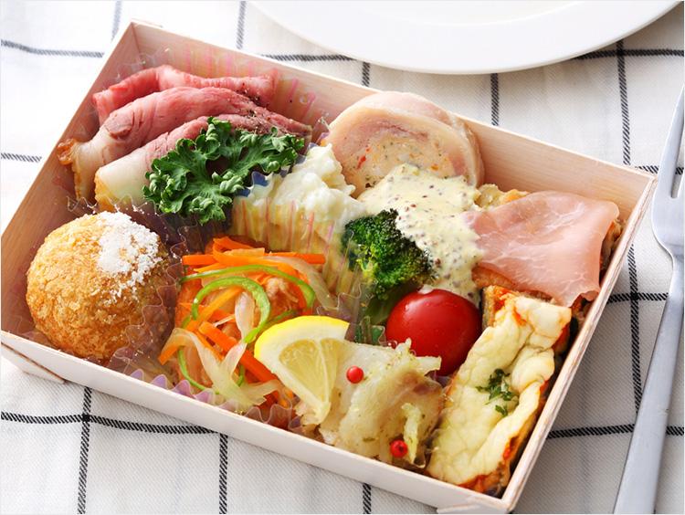 <サンミ高松>季節の食材を使用したオードブル