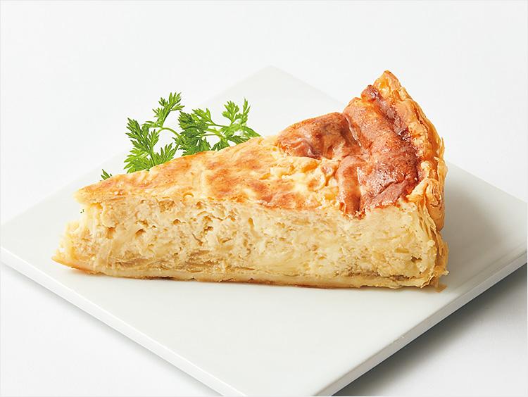 <レブレ>4種チーズのキッシュ