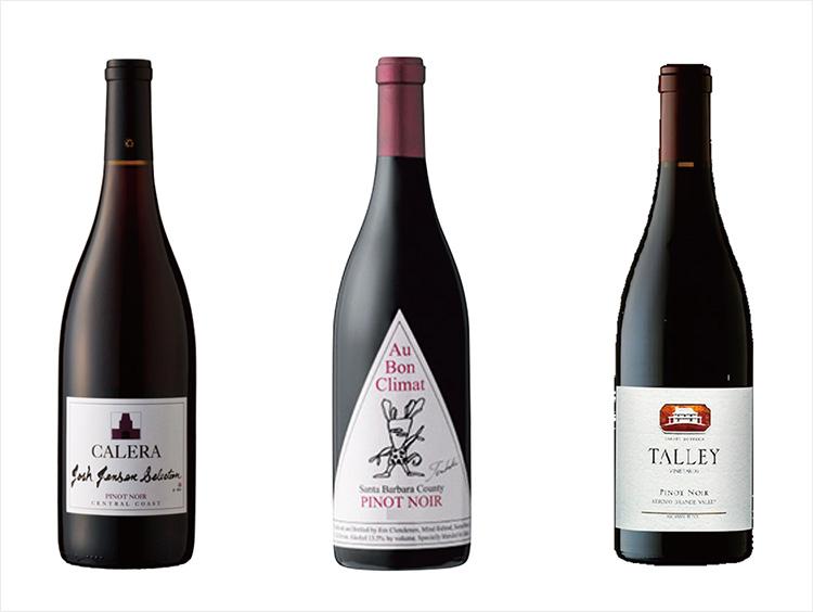 カリフォルニア高評価ワイナリー ピノ・ノワール赤ワイン3本セット