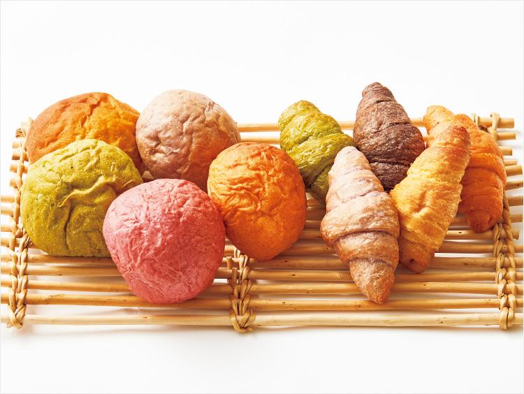 <野菜パンの店 ド・ドウ>ミニ野菜ぱんセット