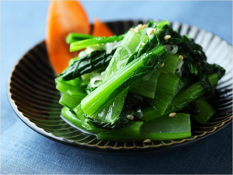 小松菜のナムルのイメージ