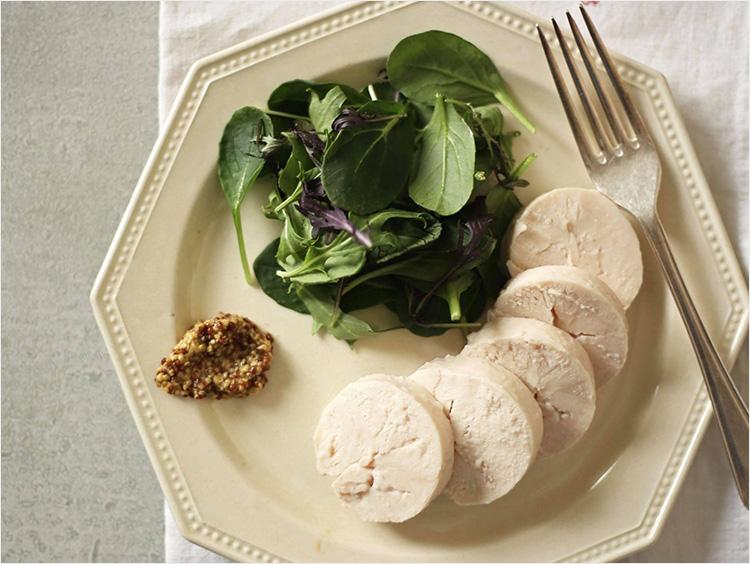塩麹を使用した「塩麹の自家製鶏ハム」