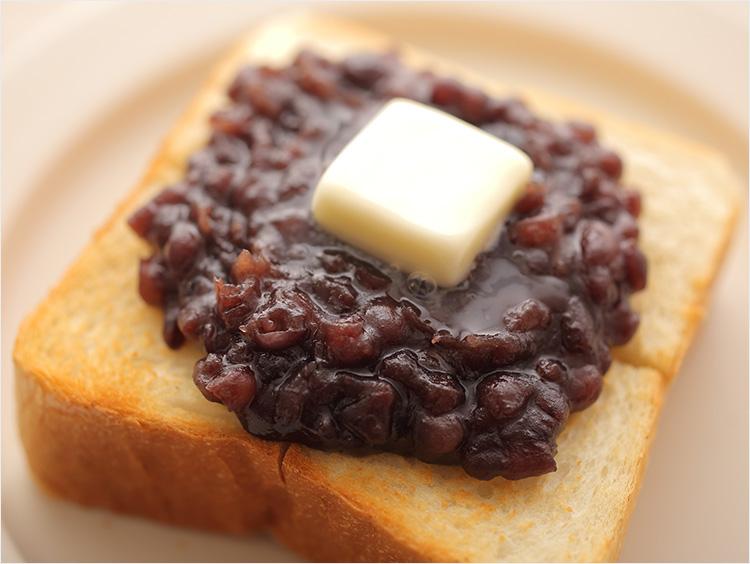小倉トーストのイメージ