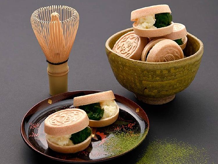 <京都祇園あのん>あんぽーねプレミアム(石臼挽き抹茶)