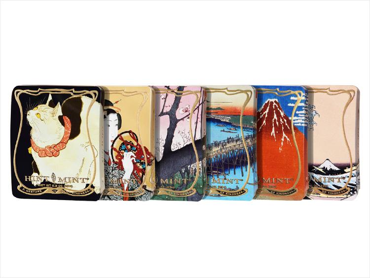 <HINTMINT>東京国立博物館コラボレーション 浮世絵クラシックコレクションvol.1 全6種セット
