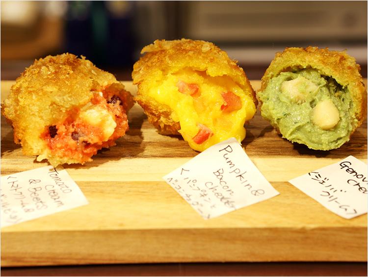 <発酵kitchenリッチクリームコロッケ東京>のコロッケのイメージ