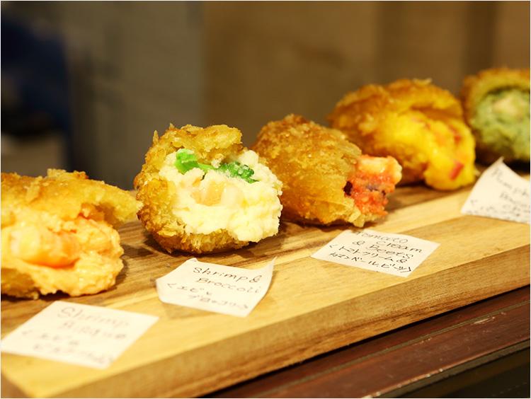 【デパ地下】カラフル&濃厚! レストランみたいな進化系コロッケ<発酵kitchenリッチクリームコロッケ東京>