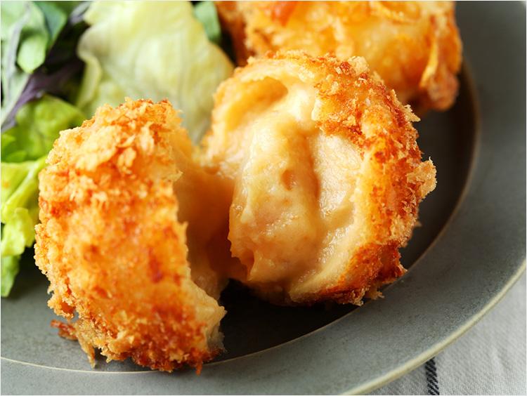 <発酵kitchenリッチクリームコロッケ東京>発酵バターで仕上げた帆立の贅沢ウニクリームコロッケ