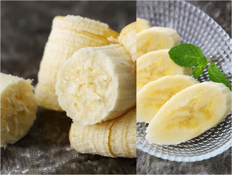 バナナカット写真