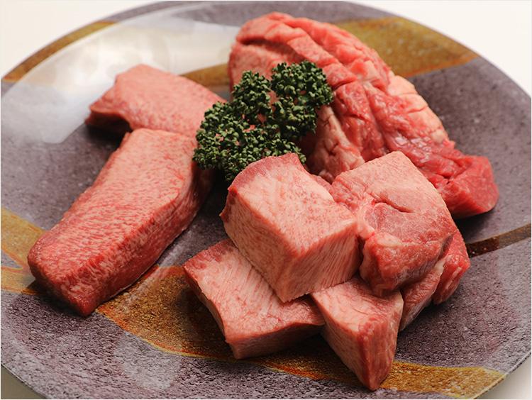 <精肉の二幸>焼肉トラジ監修 アメリカ産 牛タンを味わう盛合せ(※写真は盛り付けイメージです)