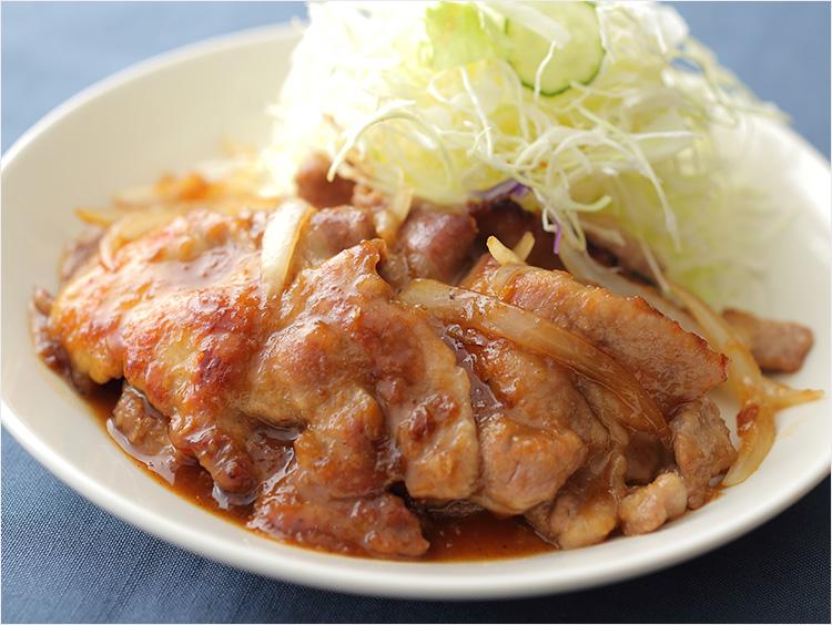 豚ロース肉の生姜焼きのイメージ