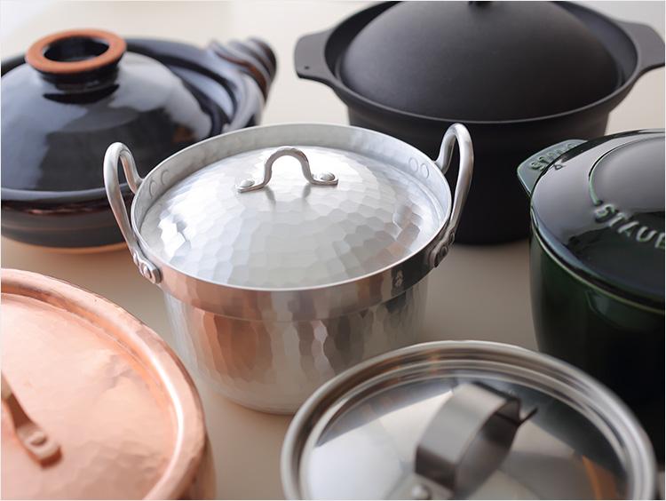 鍋の集合のイメージ