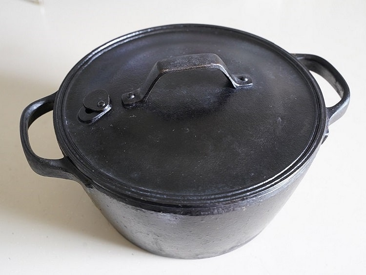 鉄鍋のイメージ