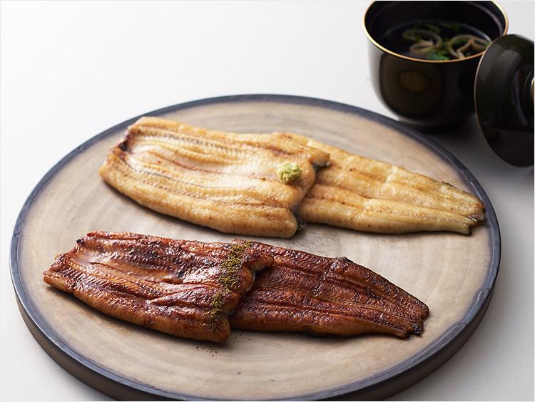 <ての字>国産鰻蒲焼・白焼セット