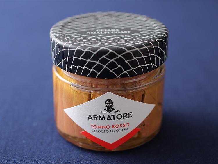 <ARMATORE>地中海産クロマグロのオイル漬け(赤身)