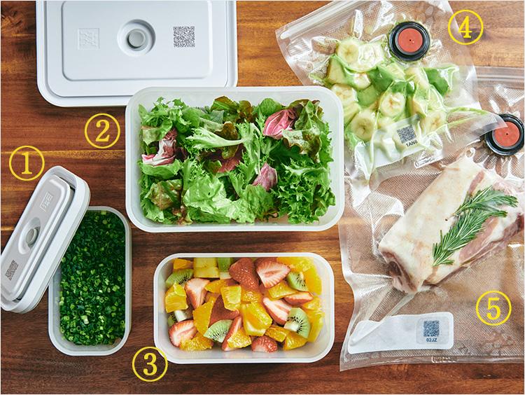 <ツヴィリング>Fresh & Save スターターセット プラコンテナ