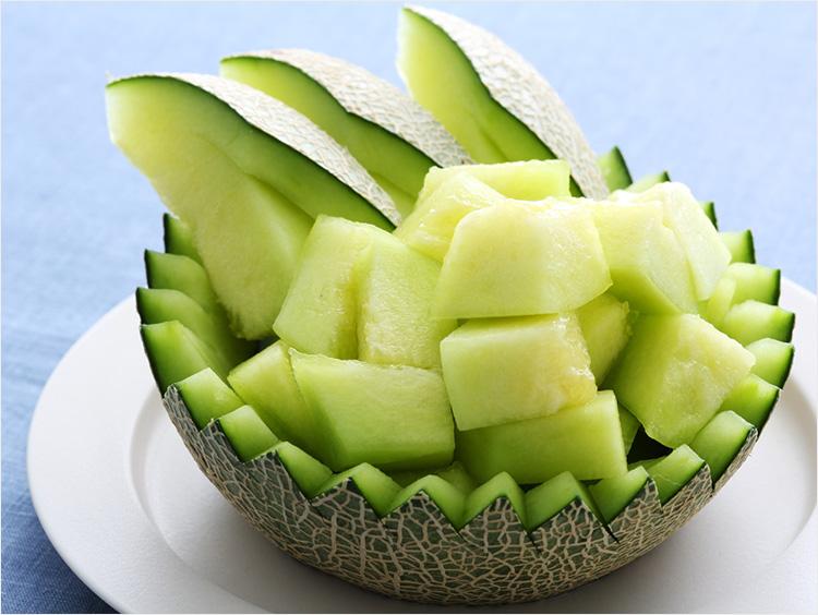 高知県産「一果相伝メロン」とは? メロンの食べごろや美しい切り方もご紹介の画像