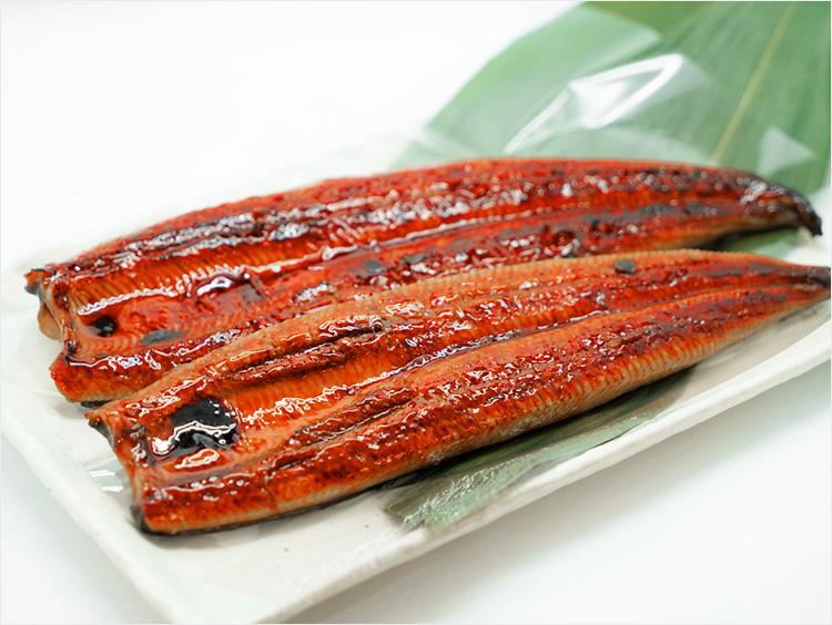 <魚勢>手焼きうなぎ長焼き