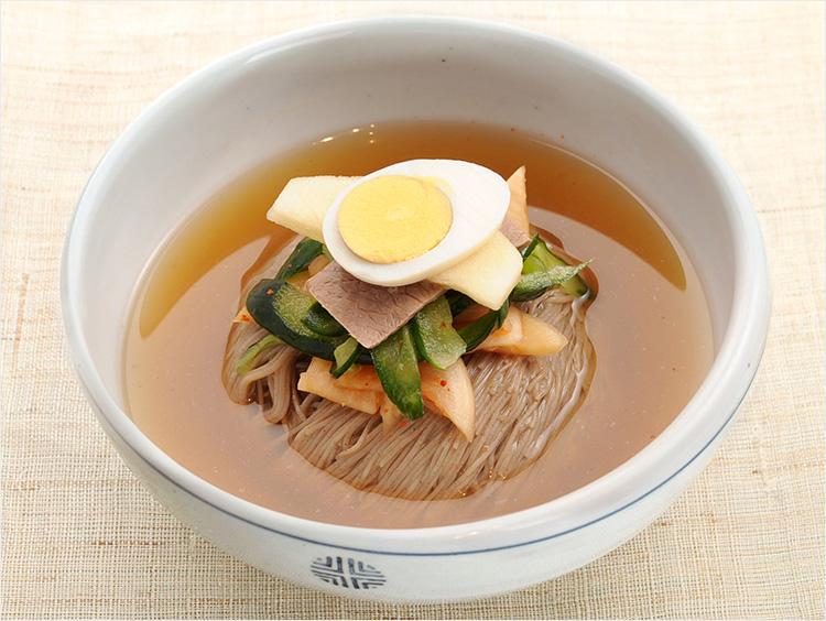 <柳香姫の台所 妻家房>冷麺